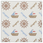 sailboat, steering wheel, nautical, name, cute,