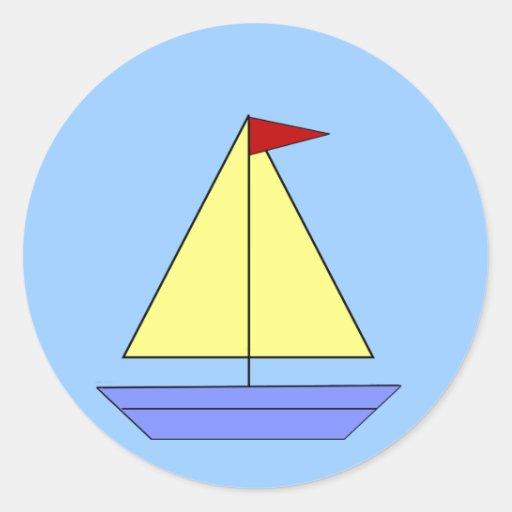 Sailboat - Sticker