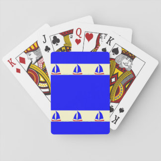 Sailboat Stripe Deck Of Cards