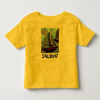 SAILBOAT & SUN - toddler/kids t-shirt
