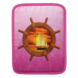 Sailboat Sunset iPad Sleeve
