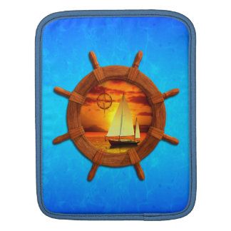 Sailboat Sunset Sleeve For iPads