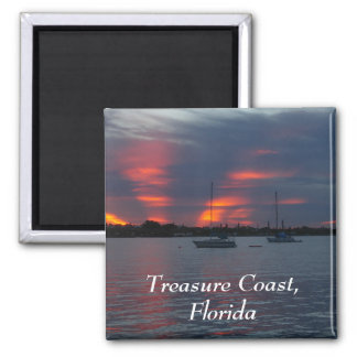 Sailboat sunset Magnet