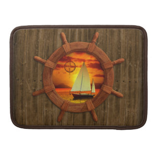 Sailboat Sunset Sleeves For MacBooks