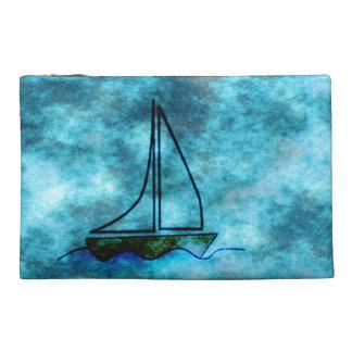 Sailboat Travel Accessory Bag