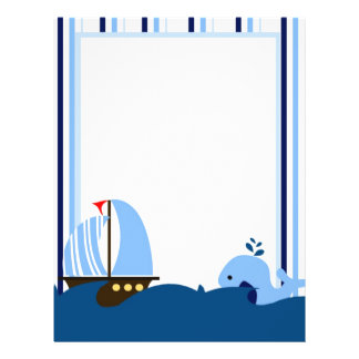 Sailboat & Whale Flyer