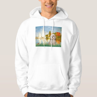Sailboats #2 - Shih Tzu (Y) Sweatshirt