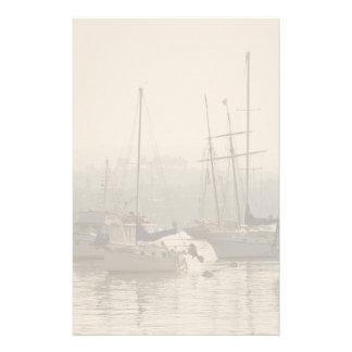 Sailboats at Anchor Stationery