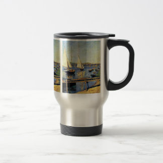 Sailboats At Argenteuil By Caillebotte Gustave 15 Oz Stainless Steel Travel Mug