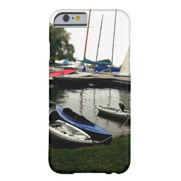 Sailboats At flathead Lake Boat Dock Barely There iPhone 6 Case