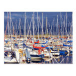 Sailboats at rest postcards
