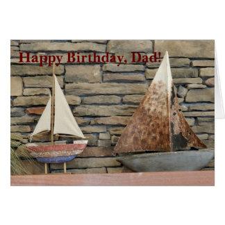 Sailboats Birthday Card
