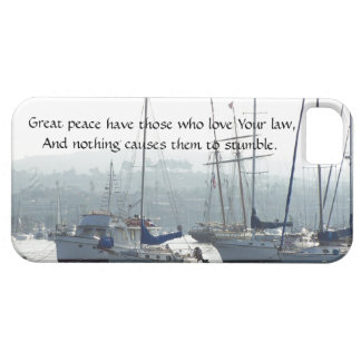 Sailboats Boats Harbor Peace Jesus iPhone 5 Case