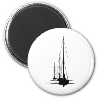 Sailboats - Cal 2-30 - Dawn Patrol 2 Inch Round Magnet