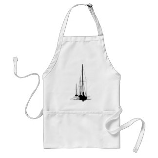 Sailboats - Cal 2-30 - Dawn Patrol Adult Apron