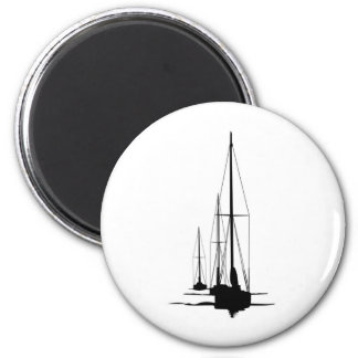 Sailboats - Cal 2-30 - Dawn Patrol Magnet