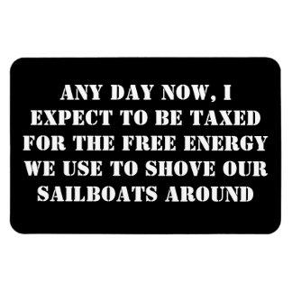 Sailboats - Captain - Taxation Magnet