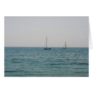Sailboats Card