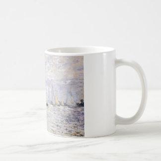 Sailboats - Claude Monet Classic White Coffee Mug