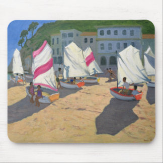 Sailboats Costa Brava 1999 Mouse Pad