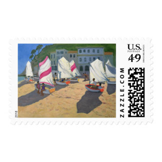 Sailboats Costa Brava 1999 Postage