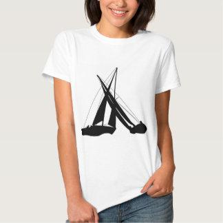 Sailboats - Crossing Tacks T Shirt