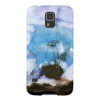 Sailboats, Dreams, Misty Morning Galaxy S5 Cover