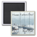 Sailboats Fathers Day Magnet