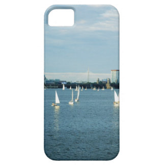 Sailboats in a river, Charles River, Boston, 2 iPhone 5 Covers