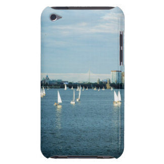 Sailboats in a river, Charles River, Boston, 2 iPod Touch Case