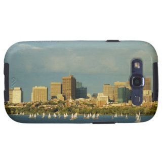 Sailboats in a river, Charles River, Boston, Samsung Galaxy S3 Cover