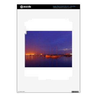 Sailboats In Bay iPad 3 Decals
