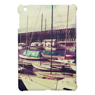 Sailboats In Dock Cover For The iPad Mini