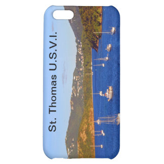 Sailboats in St. Thomas Harbor iPhone 5C Cover