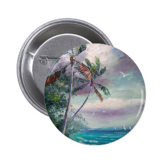 Sailboats in the Bay Buttons