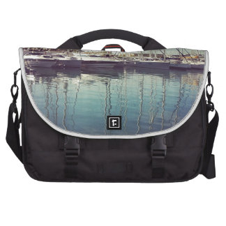 Sailboats in Water Laptop Commuter Bag