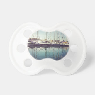 Sailboats in Water Pacifiers