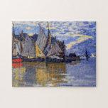 Sailboats Monet Fine Art Puzzle