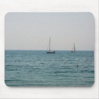 Sailboats Mouse Pad