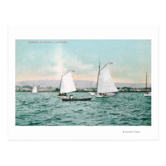Sailboats off Alameda BeachAlameda CA Postcards