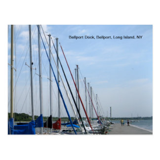 Sailboats on the Great South Bay Postcard