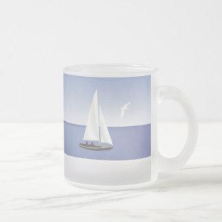 Sailboats on the Horizon Mugs