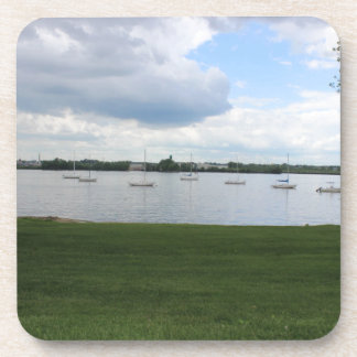 Sailboats on the Water Beverage Coaster