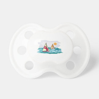 Sailboats Baby Pacifiers