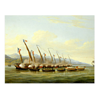 sailboats  painting 38 postcard