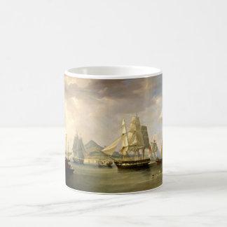 sailboats  painting 42 classic white coffee mug