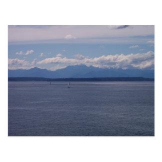 Sailboats Postcard