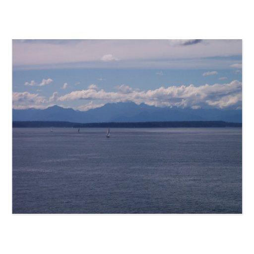 Sailboats Postcards