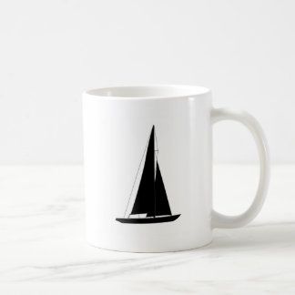 Sailboats - Racing sailboats - Colombia 5.5 Meter Coffee Mug