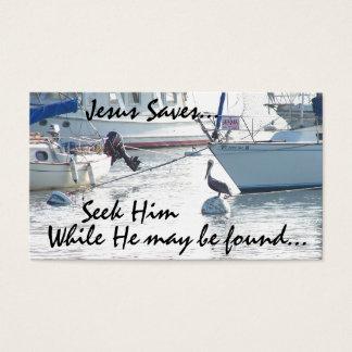 Sailboats Seek Jesus Card